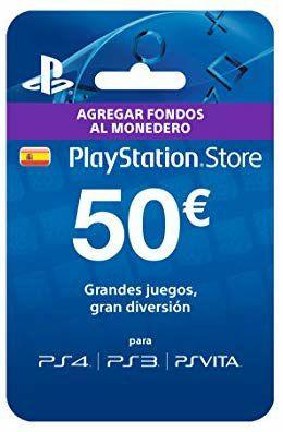 Tarjeta prepago PlayStation Store
