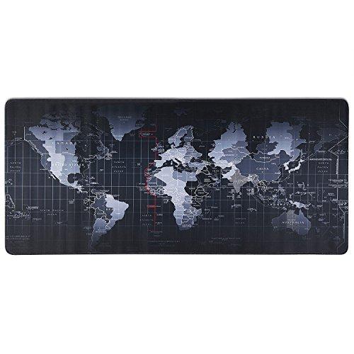 OFERTA FLASH: Alfombrilla Gaming XXL 900x400 Mapa del Mundo