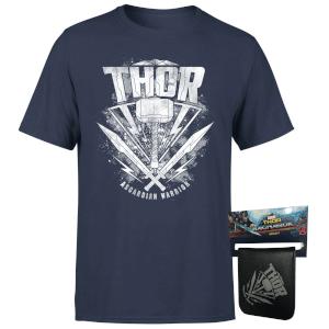 Camiseta y cartera Black Panther o Thor[A Elegir]