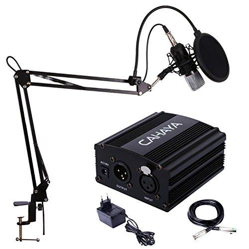 Kit micrófono con adaptador solo 14€