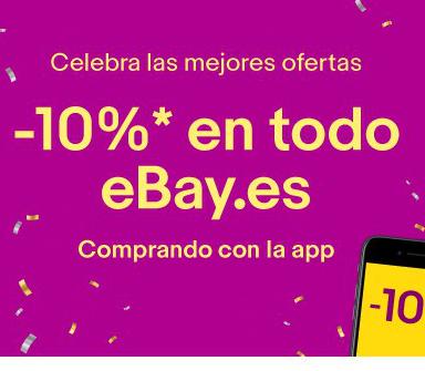 10% EXTRA en TODO eBay pagando con la APP