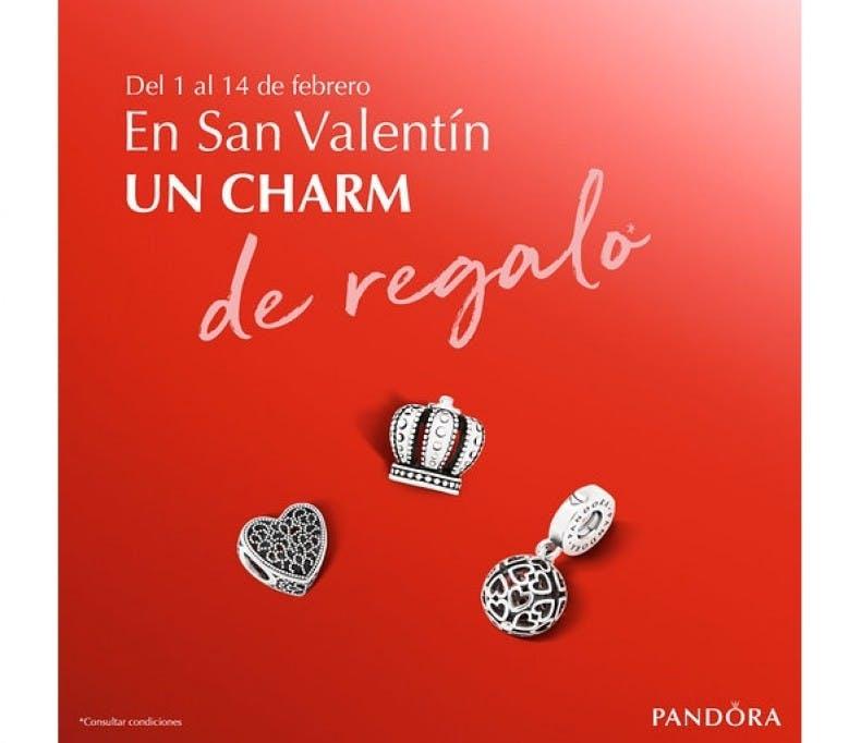 ¡Pandora Charm GRATIS por compras superiores a 99€!