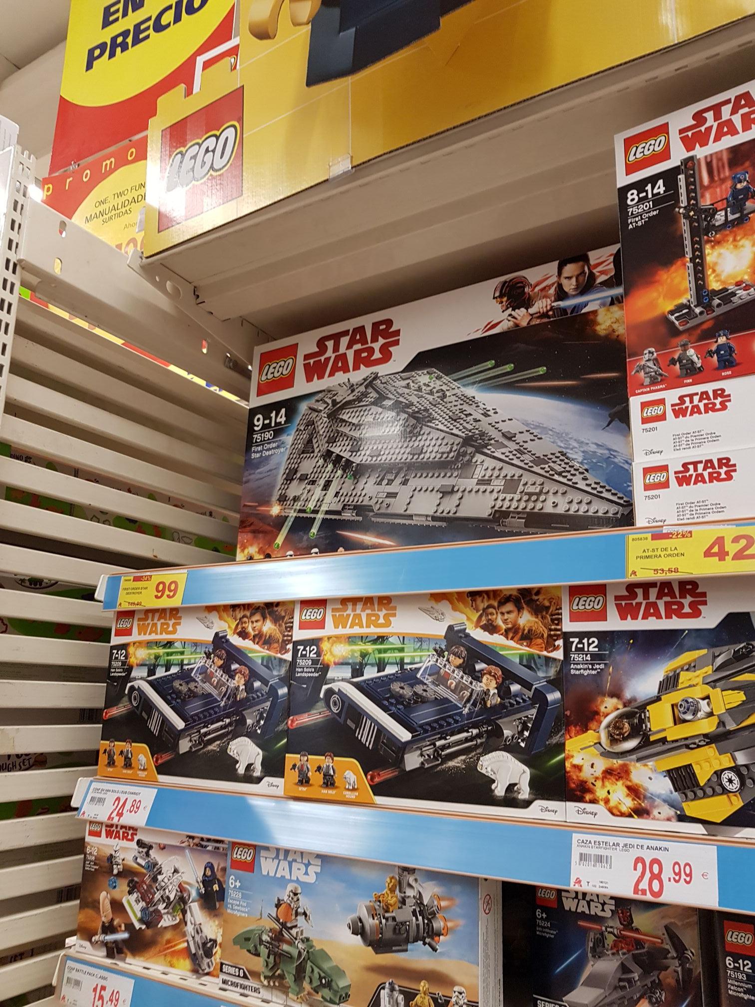 Lego en Alcampo de Coruña