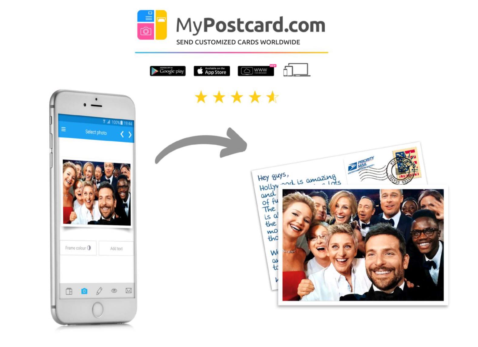 25% descuento en impresión de fotos y 10% en postales