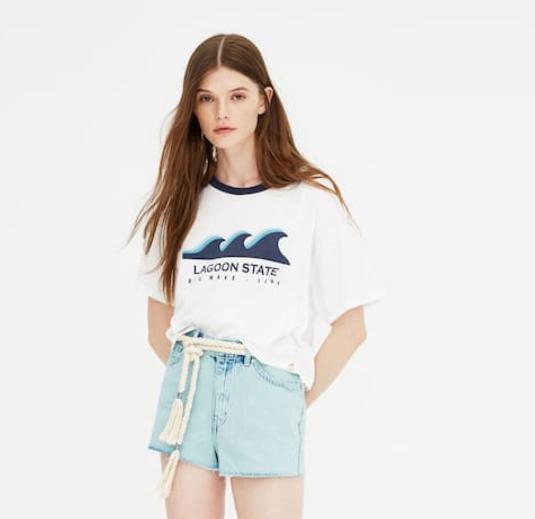 Camisetas de Pull&Bear
