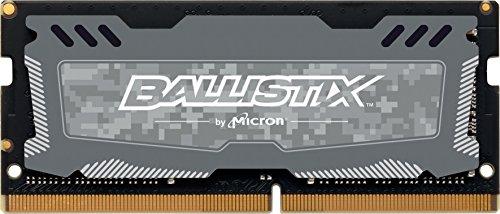 Ballistix SODIMM Sport LT - Memoria RAM de 8 GB (DDR4, 2400 MT/s)