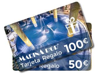 Marina d'Or, 15% reserva anticipada + 10% con código promocional + tarjeta de regalos