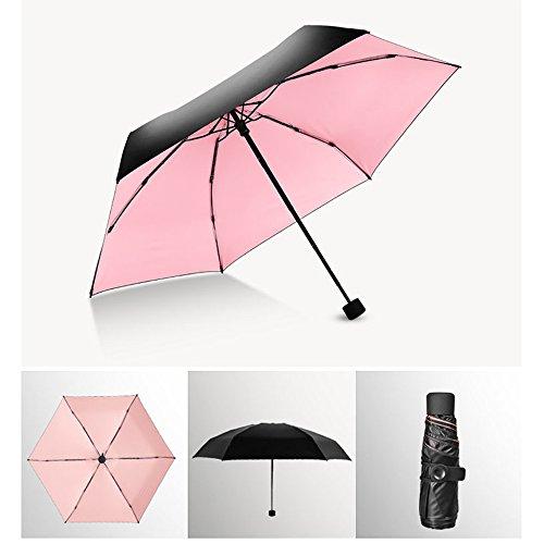 Paraguas de sol y lluvia de viaje compacto [PLUS]