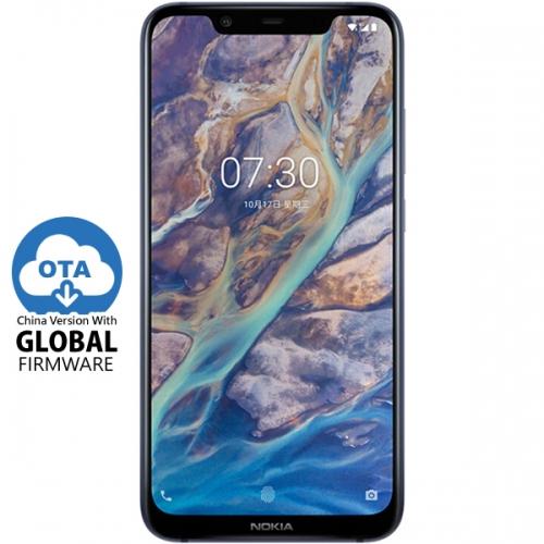 Nokia X7 (2018) (8-Core S710, 6GB+64GB) Snapdragon 710
