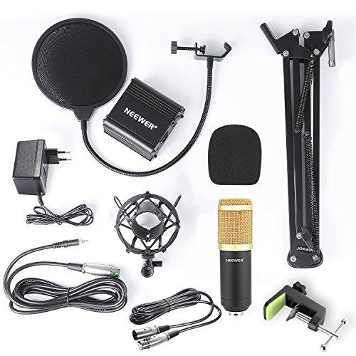 Neewer NW-800 Kit de Micrófono de Condensador