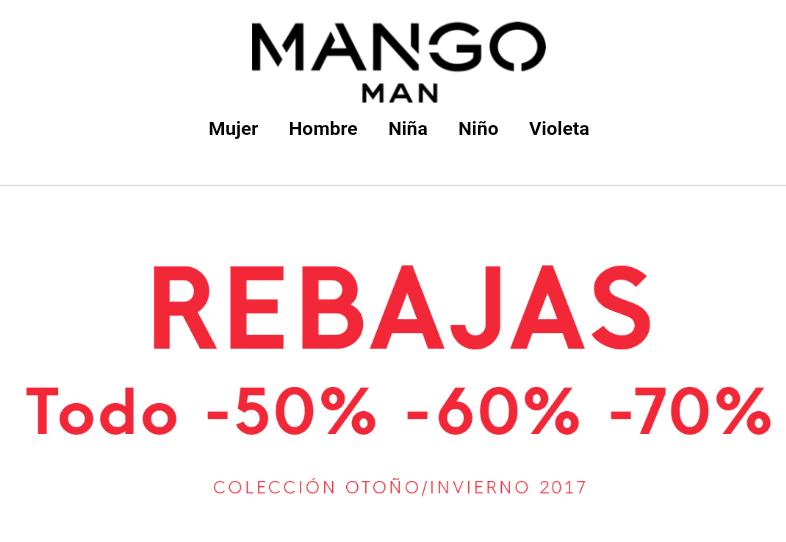 MANGO: MÁS REBAJAS - TODO A 50%, 60% Y 70%