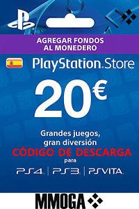 PSN 20€ Tarjeta Prepago PlayStation Network