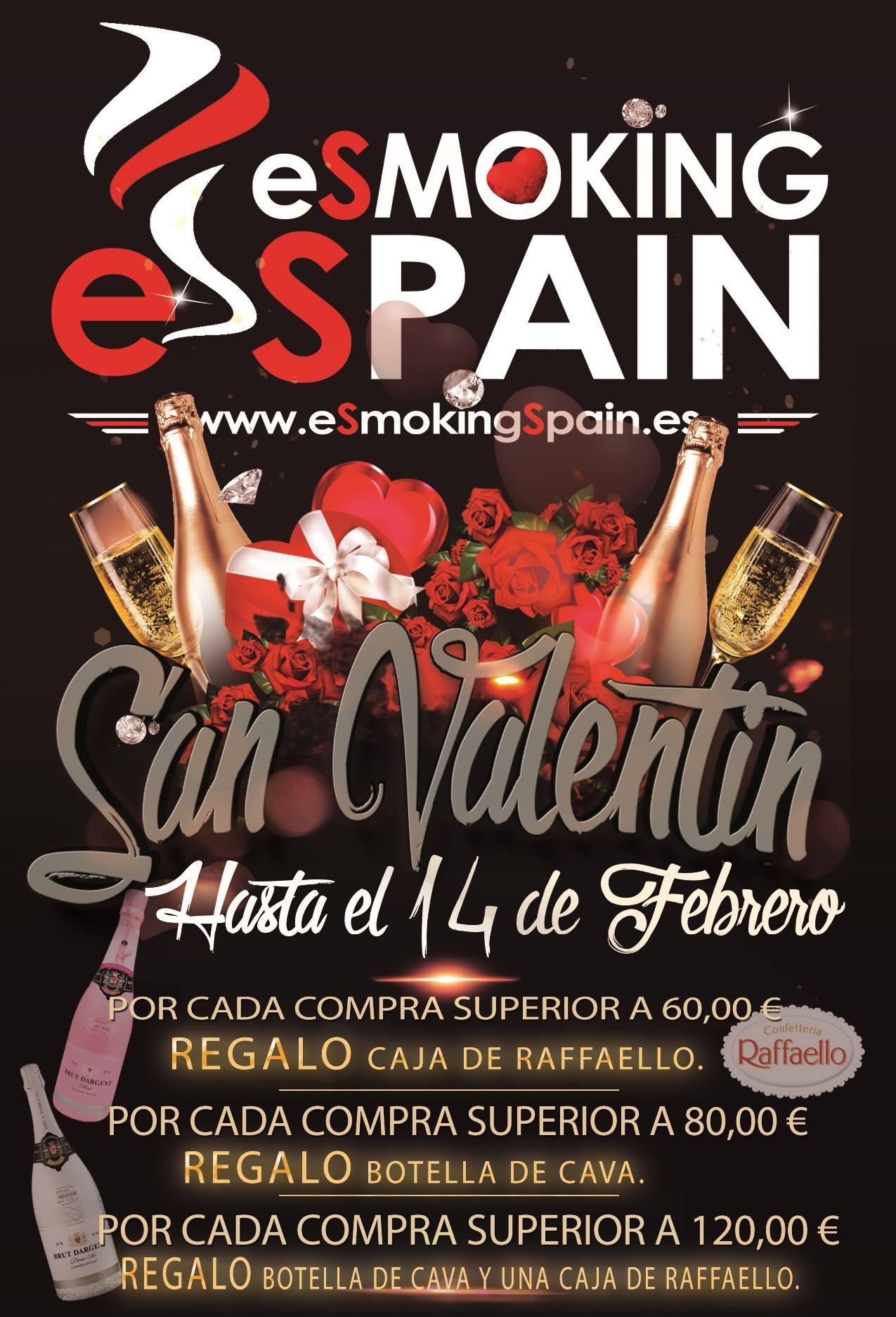 Regalos con las compras en eSmokingSpain.es
