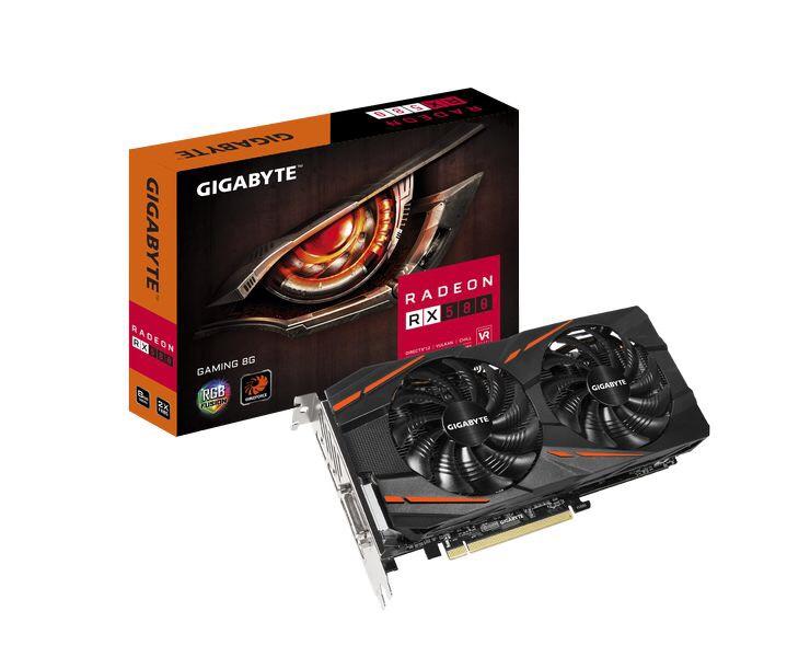 Gráfica Gigabyte Radeon RX 580 8GB GDDR5 solo 179,95€