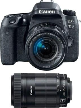 Canon EOS 77D + 2 objetivos canon