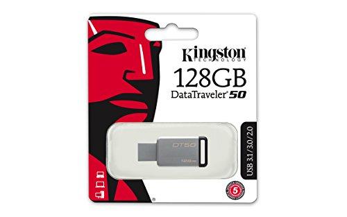 Pendrives Kingston USB 3.0 de 128 GB por unos 18€ (2 modelos)