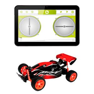 Tablet Ingo para niños con coche radio control por BT