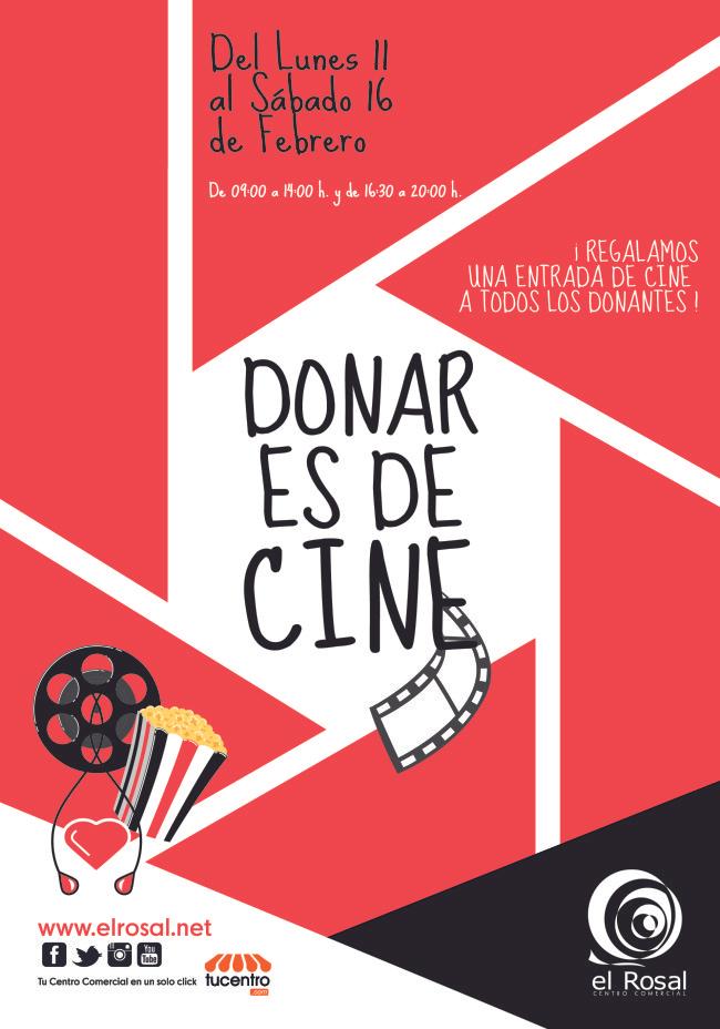 Entrada de cine GRATIS al donar sangre en Ponferrada León