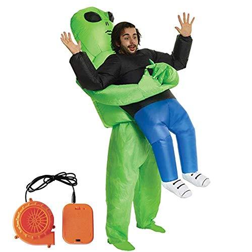 ¡Disfraz de Alien inflable con ventilador incluido por sólo 21,29€!