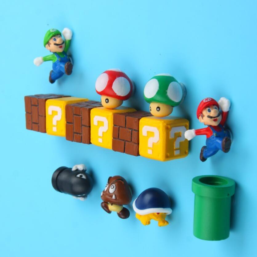 ¡Pack de 10 piezas de imanes de Mario Bros! Envío gratis