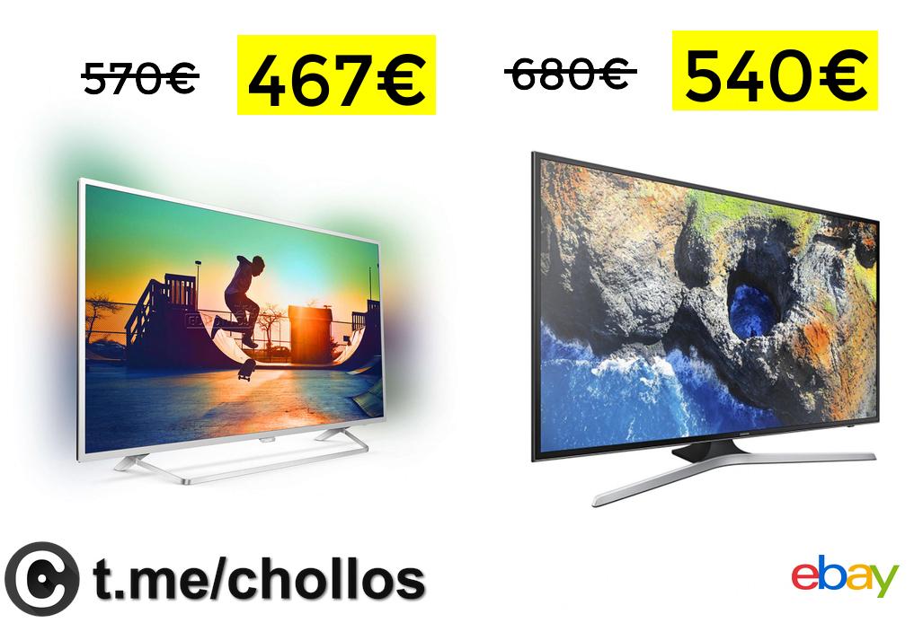 """TV 49"""" Philips 4K con Ambilight solo 467€"""