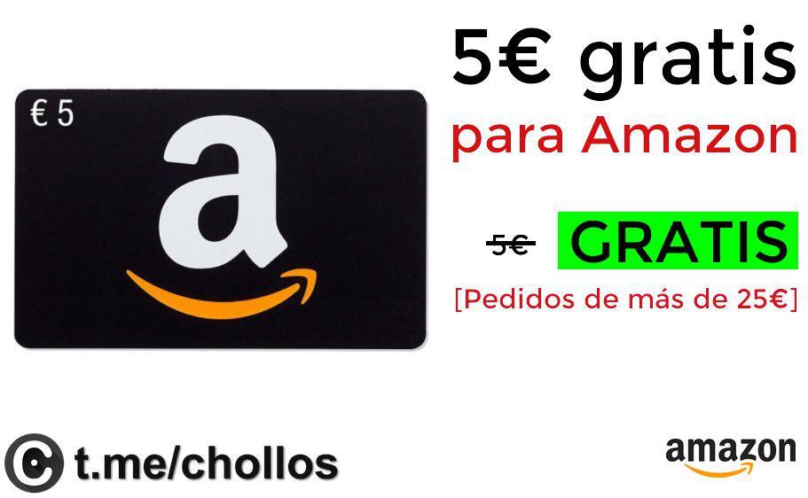 5€ Gratis con Amazon Assistant - No todas las cuentas