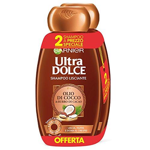 Pack de 6 Shampoo de cacao y aceite de coco Garnier Ultra Doce - 11,20€- PRECIAZO