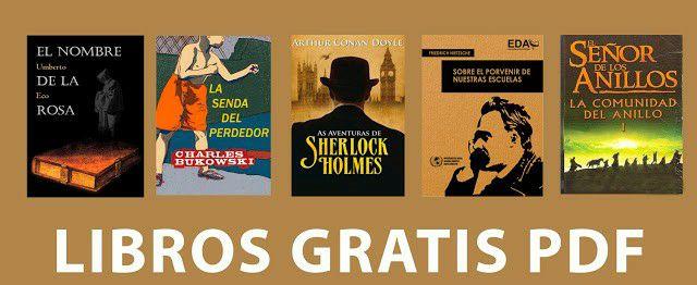 Grandísima variedad de libros gratis en PDF ( muchas temáticas.)