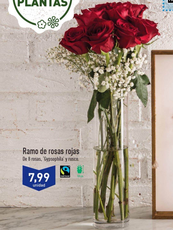 Ramo de rosas Aldi
