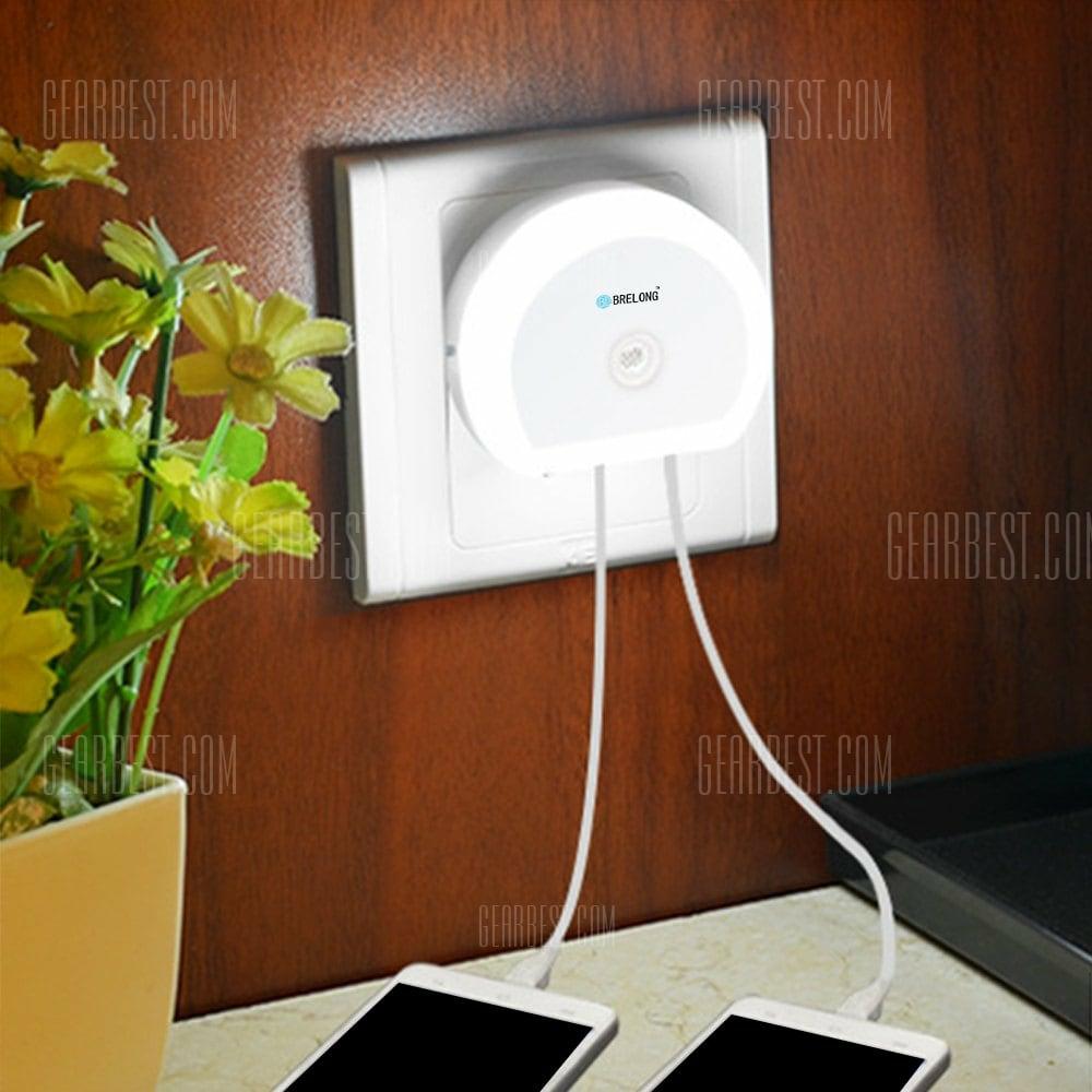 Cargador x2 + Sensor de luz LED