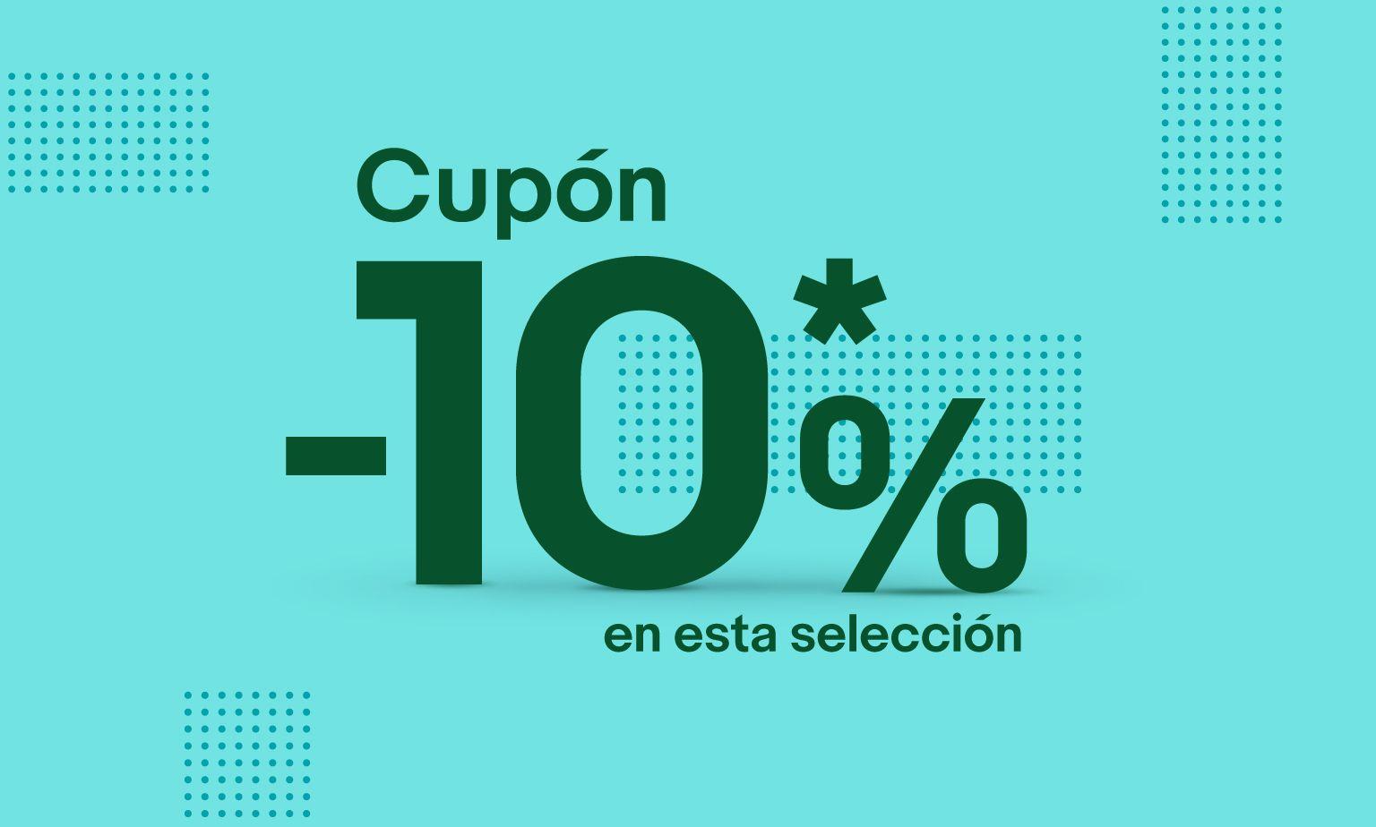 Código de descuento del 10% en eBay selección