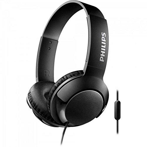 Auriculares con micrófono Philips Bass+ SHL3075BK