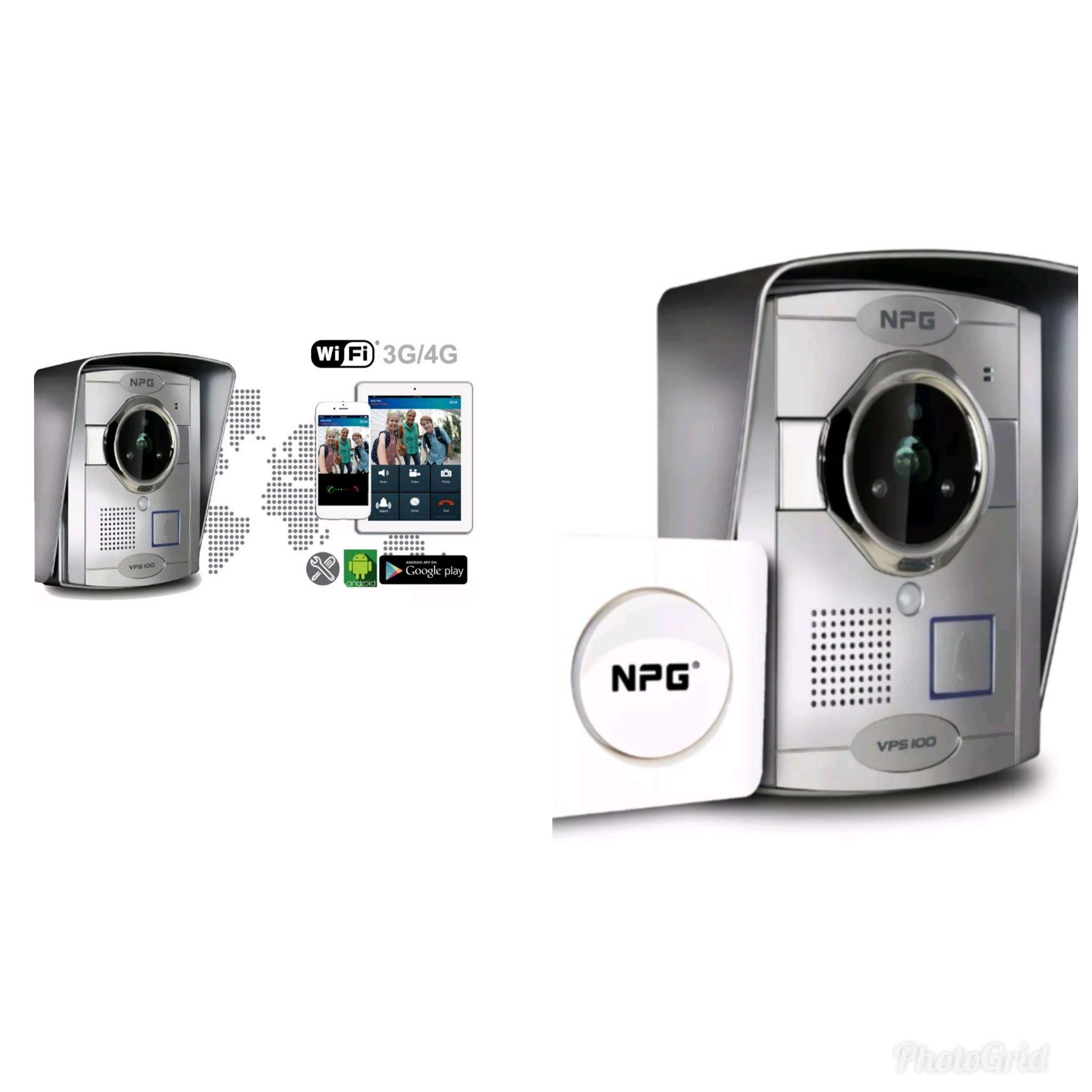 video portero VPS100, podrás ver a través de tu Smart Phone en tiempo real y desde cualquier parte,