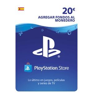 Tarjeta prepago 20€ PSN por 16,25€
