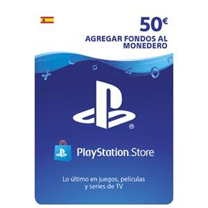 Tarjeta prepago 50€ PSN por 38,61€
