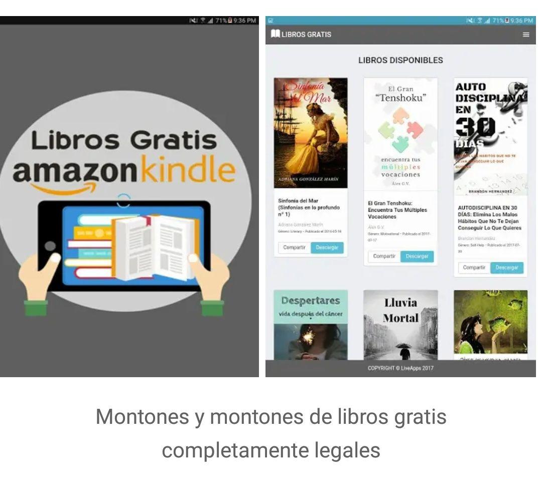 Montones de libros Kindle totalmente gratis