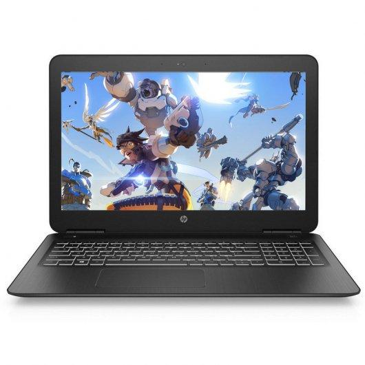 "Portátil HP Pavilion  i5-8300H  8GB RAM 1TB+128GB SSD GTX 1050 15.6"""
