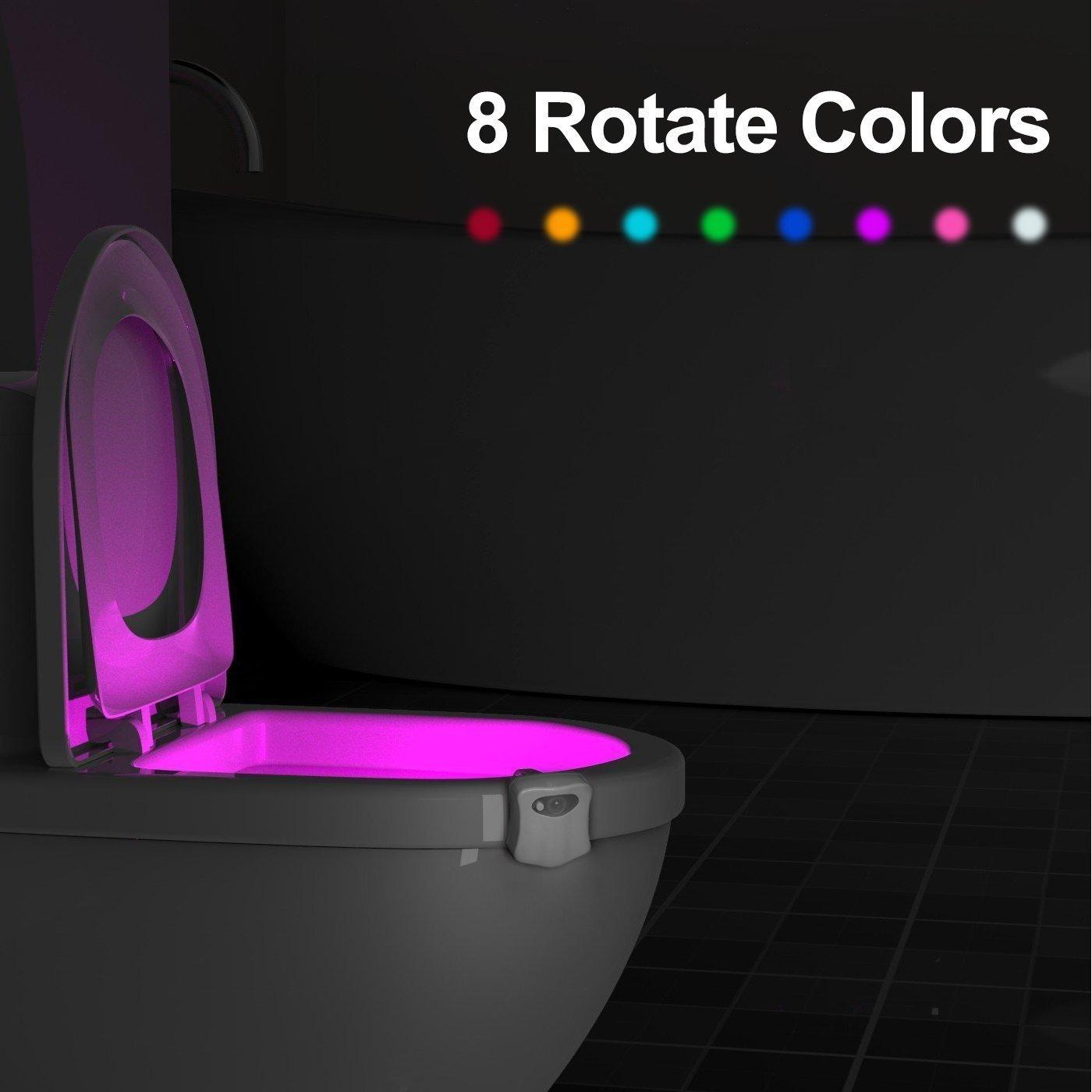 ¡Luz Led de colores para tu WC por sólo 2,21€! Envío gratis