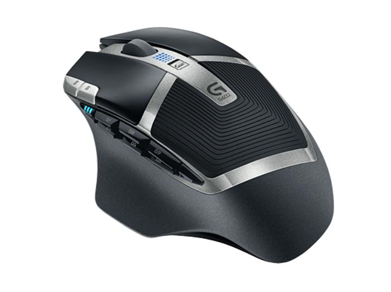 Ratón gaming - Logitech G602, Inalámbrico, 11 botones programables, 2500 dpi
