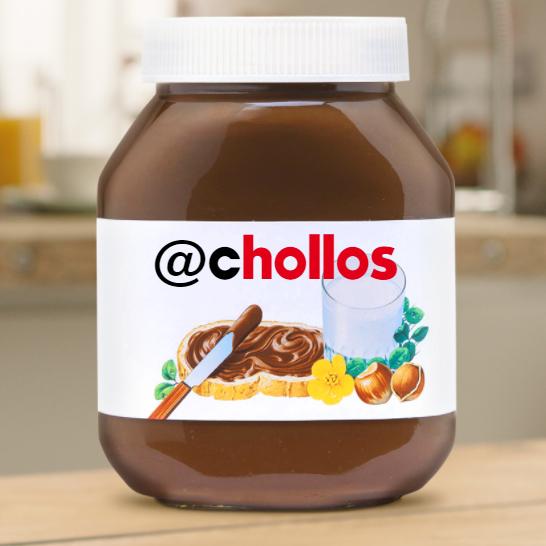Etiqueta Nutella personalizada GRATIS