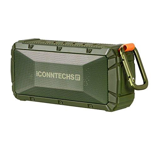 ICONNTECHS IT altavoz Bluetooth portátil (Resistencia al agua y al polvo IPX6, 6 a 8 horas de reproducción)