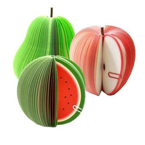 ¡Post-it con forma de frutas por sólo 0,74€! Envío gratis