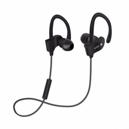Auricular Inalámbrico Estéreo Bluetooth En La Oreja Bajo Con Micrófono - Negro