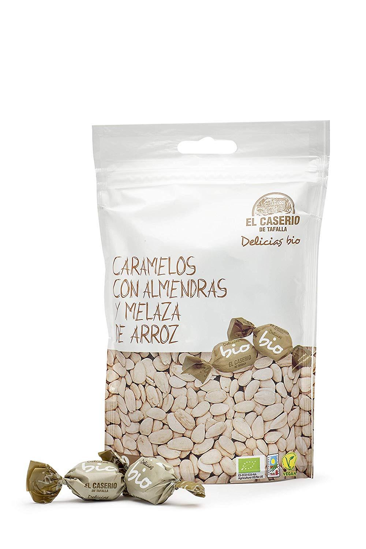 15 paquetes Caserio de Tafalla Caramelos Almendras y Melaza Arroz BIO (0.81€ paquete)