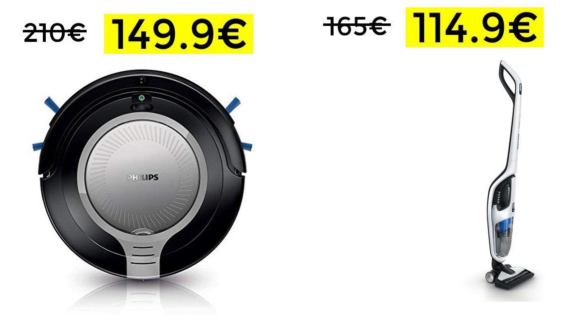 Robot slim Philips SmartPRO sólo 149€