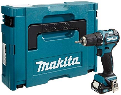 Makita – Taladro atornillador (10,8 V set con 1 batería en Makpac, 1 pieza, df332dy1j