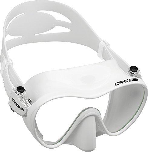Cressi Tauchmaske Erwachsen F1 Frameless Gafas de Buceo