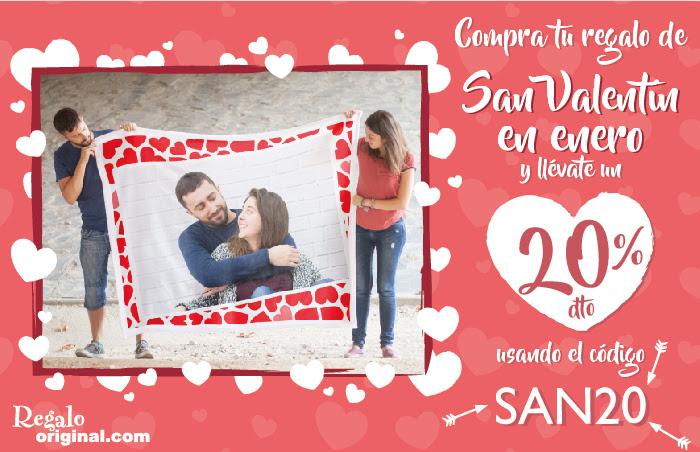 20% Descuento en Regalo Original (San Valentín)