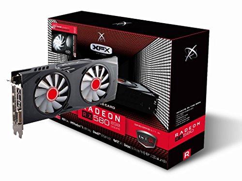Tarjeta gráfica XFX AMD Radeon RX 580 8GB Black Edition
