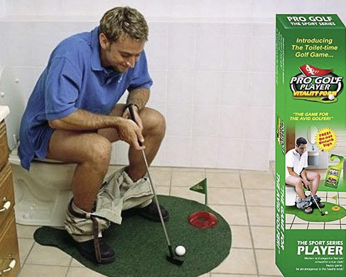 ¡Mini golf para WC por sólo 6,39€! Envío gratis